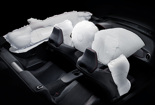 Supplemental Restraint System (SRS)* Airbags